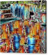 Freeway Park 8 Canvas Print