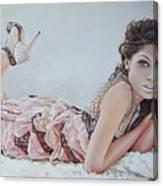 Freida Pinto Canvas Print