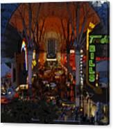 Fremont Street Nevada Canvas Print
