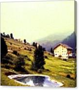 French Alps 1955 Canvas Print