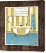 French Bath 2 Canvas Print