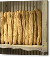 French Bread In Roussillon Canvas Print