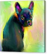 French Bulldog Painting 4 Canvas Print