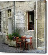 French Countryside Corner Canvas Print