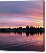 French Creek Sunrise Canvas Print