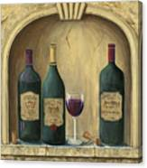 French Estate Wine Collection Canvas Print