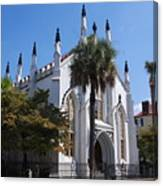 French Huguenot Church In Charleston Canvas Print