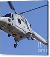 French Navy Westland Sea Lynx Canvas Print