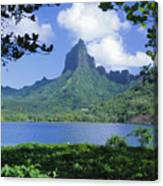 French Polynesia, Moorea Canvas Print