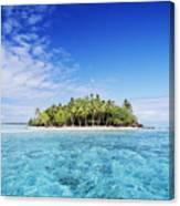 French Polynesian Island Canvas Print