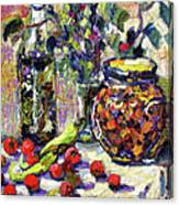 French Provence Cooking Still Life Canvas Print