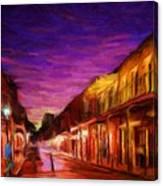 French Quarter 1 Canvas Print