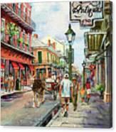 French Quarter Antiques Canvas Print