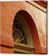 French Quarter Arches Canvas Print