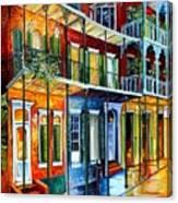 French Quarter Charm Canvas Print