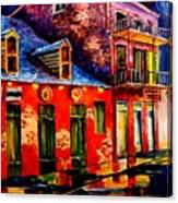 French Quarter Dazzle Canvas Print