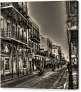 French Quarter Ride Canvas Print