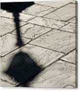 French Quarter Shadow Canvas Print