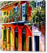 French Quarter Sunshine Canvas Print