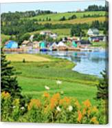 French River, P.e.i. Canvas Print