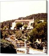 French Riviera 1955 Canvas Print