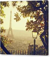 French Romance Canvas Print