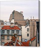French Rooftops  Canvas Print