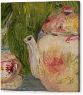 French Teapot Canvas Print