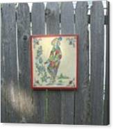 French Tile Colored 4 Canvas Print
