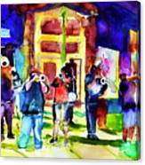 Frenchman Street Canvas Print