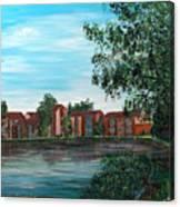 Frenchmans Wharf Stroll Canvas Print