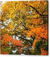 Fresco Autumn Diptych Right Canvas Print