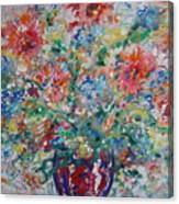 Fresh Bouquet Canvas Print