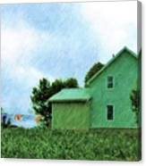 Fresh Country Air Canvas Print
