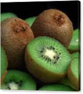 Fresh Kiwi Canvas Print