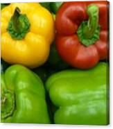 Fresh Peppers II Canvas Print
