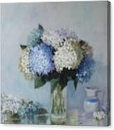 Fresh Summer Hydrangea 2 Canvas Print
