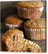 Freshly Baked Muffins Canvas Print