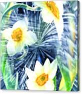 Freshness Of Spring Dew Canvas Print