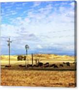 Fresno County Pastoral Canvas Print
