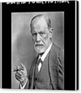 Freud Says Blame Your Mother  Canvas Print