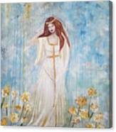 Freya - Goddess Of Love And Beauty Canvas Print