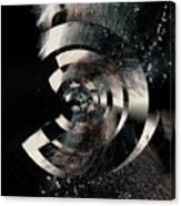 Friction Wheel Canvas Print