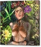 Frida De Ophelia Canvas Print