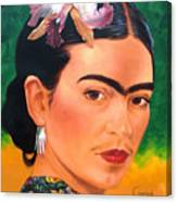 Frida Kahlo 2003 Canvas Print