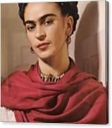 Frida Kahlo Live Canvas Print
