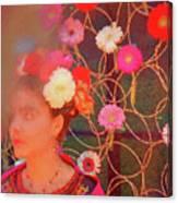 Frida Kalho Inspired Canvas Print
