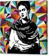 Frida Stay True Canvas Print