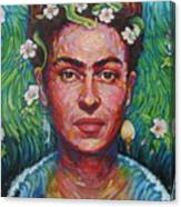 Frieda Canvas Print