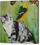Friends Can Help Canvas Print